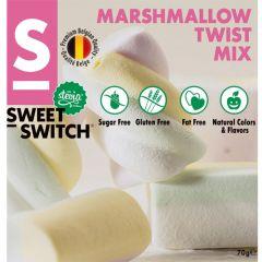 Sweet Switch | Marshmallows 70g | Koolhydraatarm | Dieetwebshop.nl