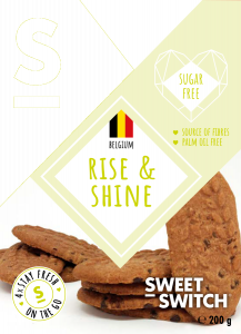 Sweet Switch | Rise & shine 200g | Low Carb | Dieetwebshop.nl