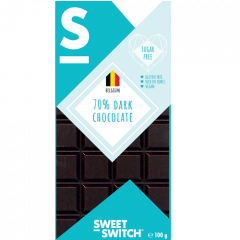 Sweet Switch | tablet 70% Pure Chocolade 100g | Low Carb | Dieetwebshop.nl