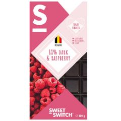 Low Carb | Sweet Switch | Tablet 88% Pure Chocolade & framboos | Dieetwebshop.nl