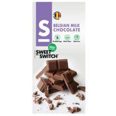 Sweet Switch | Tablet Melk Chocolade 100g | Low Carb | Dieetwebshop.nl