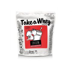 Take-a-Whey | Micellar Casein | Aardbeien Milkshake | Proteïnerijk