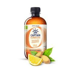 The GUTsy Captain | Kombucha Zero | Ginger & Lemon | Koolhydraatvrij