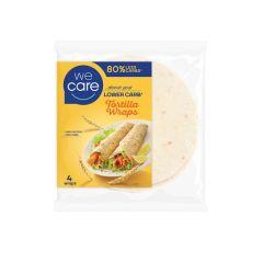 We Care | Low Carb Tortilla Wraps | Caloriearm