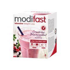 Modifast Intensive| Milkshake Cranberry | eiwitrijk |