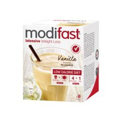 Modifast Intensive | Milkshake Vanille | caloriearm |