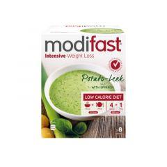 Eiwitrijke soep | Modifast | intensive Soep | Prei Aardappel |