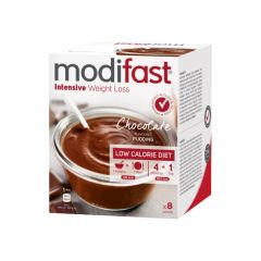 Modifast Intensive | Pudding Chocolade | caloriearm |