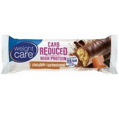 Weight Care | Carb Reduced High Protein Reep| Chocolade en Karamel | Koolhydraatarm