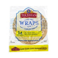 Toufayan | Low Carb | Tortilla Wrap