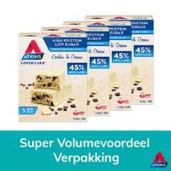 Sugar Free | Atkins | Cookies and Cream | Voordeeldoos | Dieetwebshop.nl