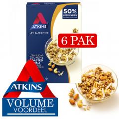 Atkins   Crunchy Muesli   Low Carb   Dieetwebshop.nl
