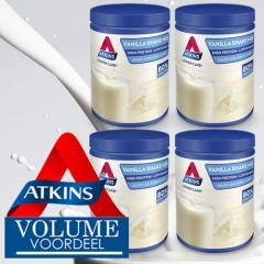 Keto Shake | Atkins | Shakemix Vanille | Doos | Caloriearm | Dieetwebshop.nl