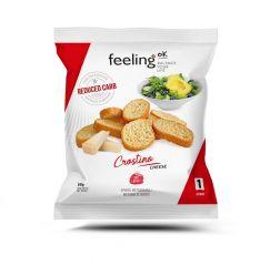 Eiwitrijke Toastjes Kaas   Feeling OK Crosti   Protiplan
