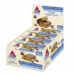 Atkins | Chocolate Hazelnut Crunch | Doos  | Low Carb Bar | Dieetwebshop.nl