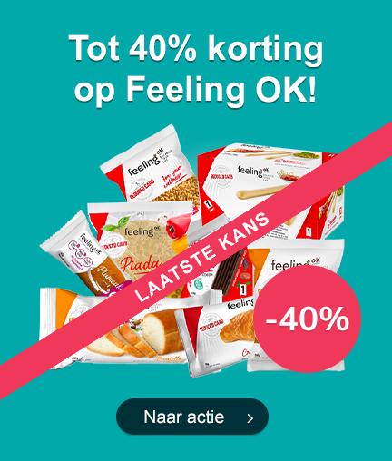 Tot 40% Korting op alles van Feeling OK Laatste Kans!