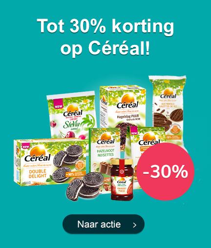 Tot 30% Korting op Céréal!