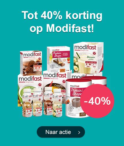 Tot 40% Korting op Modifast!