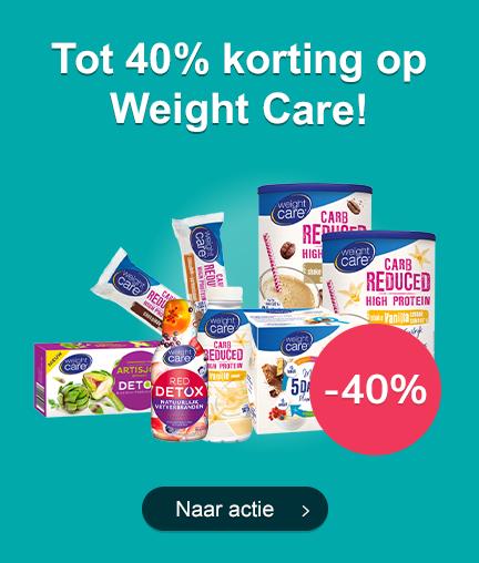 Tot 40% Korting op Weight Care!